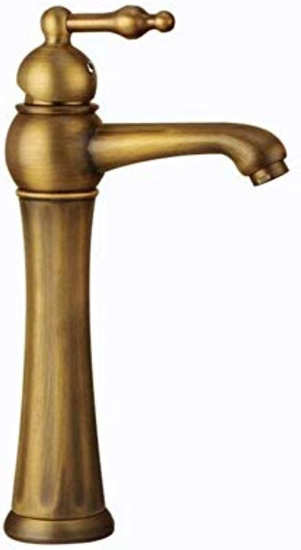 Küche Bad Mischer Wasserhahn Wasserhahn Antike Einlochmontage Küchenbecken Wasserhahn Messing Retro Einzigen Heien Und Kalten Wasserhahn