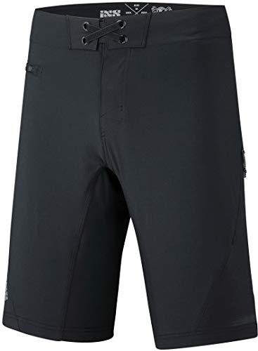 IXS Flow XTG Shorts Black M Costume a Boxer, Nero, M Unisex-Adulto