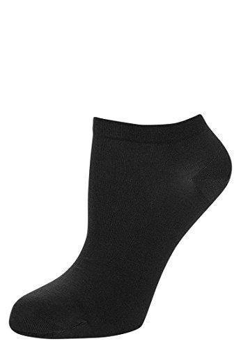 Wolford Damen Strümpfe (LW) Sneaker Cotton Socken, 80 DEN,black,Small (S)