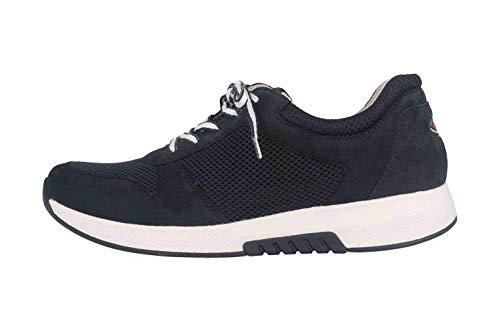 Gabor Rollingsoft Damen Sneaker Blau, Schuhgröße:EUR 40.5