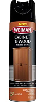 Weiman Cabinet & Furniture Polish - 17 Ounce - Aerosol Protect Clean Polish Wax Your Wood Tables Chairs Cabinets