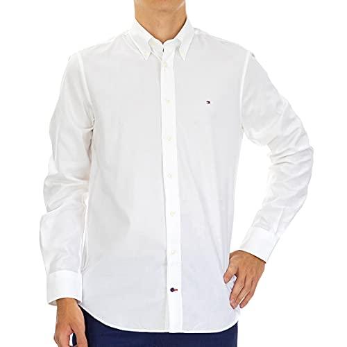 Camicie Uomo Tommy Hilfiger Tt0tt05565 Flwx Collar 100r White