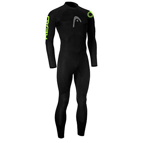 Head Multix VL Man-Multisport Wetsuit 2, 5 Traje Neopreno, Hombre, Black Lime, M