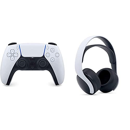 Sony DualSense Wireless-Controller [PlayStation 5] + Sony PULSE 3D-Wireless Headset [PlayStation 5]