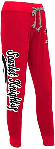 Great Deal! Knights Rutgers Scarlet Sweatpants Juniors Large 34 x 28 Jogger Fits Womens Large