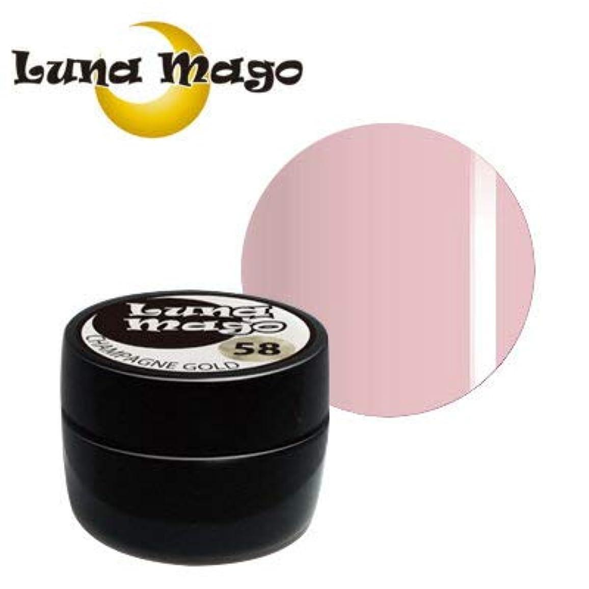 宿命考え挨拶するLuna Mago カラージェル 5g 012 ピンク
