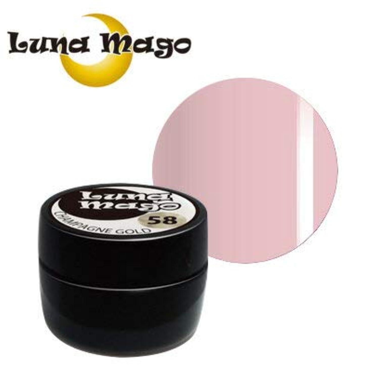 理解コークス手綱Luna Mago カラージェル 5g 012 ピンク