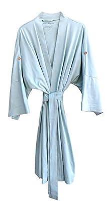 Cat & Dogma Women's Soft Organic Cotton Kimono Bath Robe (One Size/4 Colors)