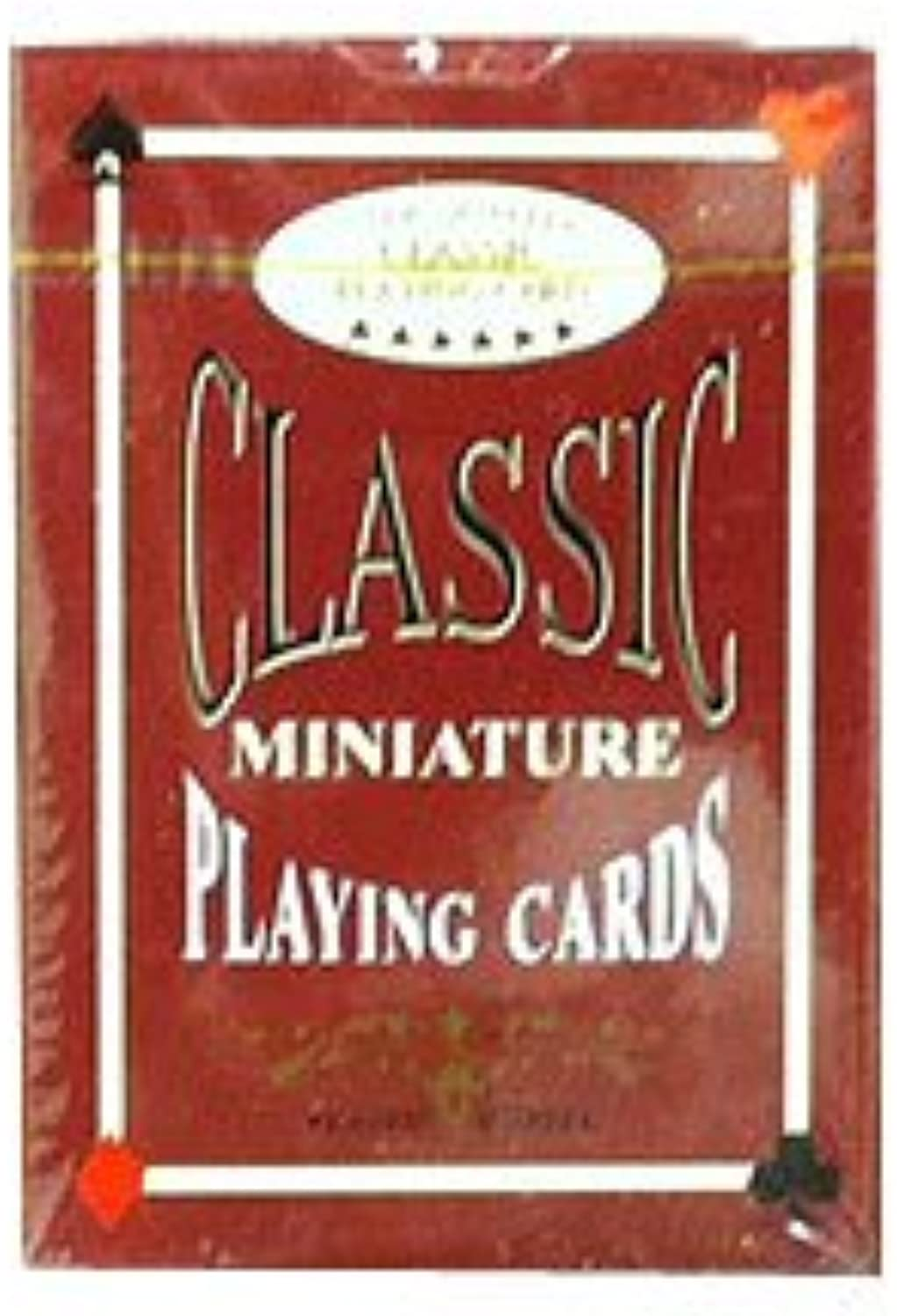 Classic Miniature Playing Cards - Set of 10 by John Hansen