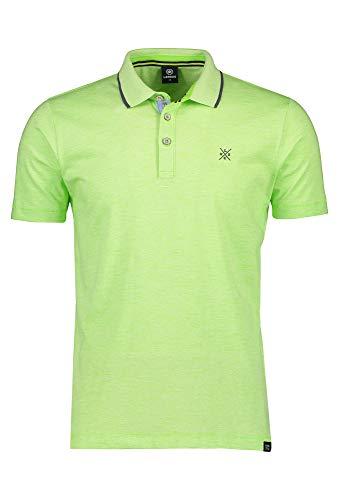 LERROS Poloshirt mit Knopfleiste grün,XL