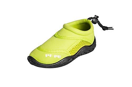 PI-PE Badeschuhe Active Aqua Shoes Escarpines de baño, Infantil, Verde, 30 EU