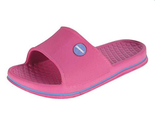 BEPPI Buty basenowe Loafer Flat Unisex Child, różowy - Rosa - 24 EU