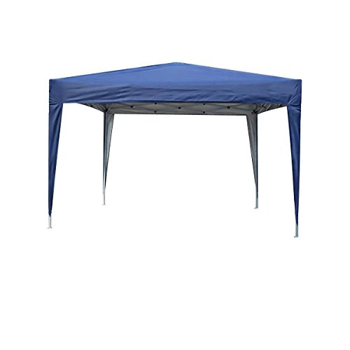 mcc direct 3x3m Pop-up Gazebo Waterproof Outdoor Garden Marquee Canopy NS (Blue)