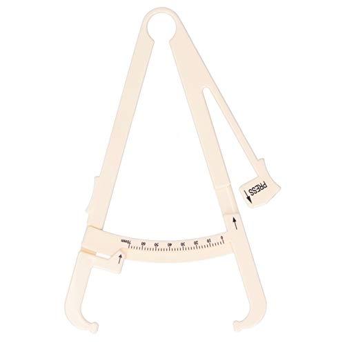 Body Fat Caliper, Fat Tester Caliper Handheld Body Fat Measurement Device Skinfold Fat Caliper for Accurately Measuring Monitoring Body Fat