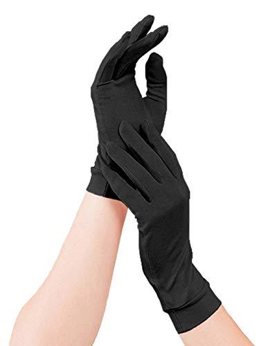 シルク 手袋 レディース シルク100% 絹 ハンド ケア 保湿 紫外線 肌荒れ 乾燥 INNIFER