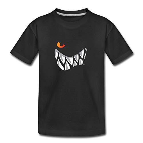 Die Wilden Kerle Grinsen Kinder Premium T-Shirt, 134-140, Schwarz