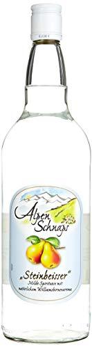 Alpenschnaps   Steinbeisser   3 x 1000ml   Williamsbirne   pures Alpenglück im Glas