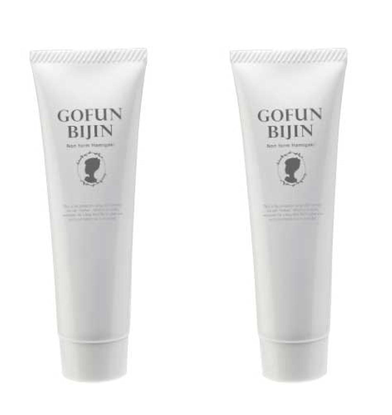 必要条件些細取り替える胡粉美人ハミガキ 2個セット(歯のホワイトニング歯磨き粉 ノンフォームタイプ)