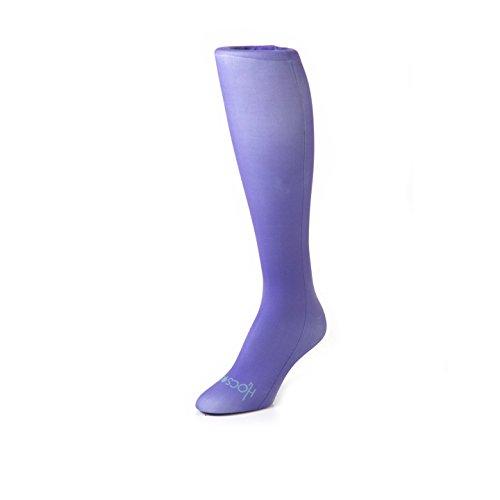 Hocsocx Strümpfe/Stutzen, zum Tragen unter Schienbeinschonern, für Hockey, Fußball, für Mädchen und Frauen geeignet, in 7 Farben verfügbar, Just Purple, Womens EU 36-42