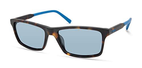 Timberland Gafas de sol rectangulares Tba9268 para hombre, Mate Carey,