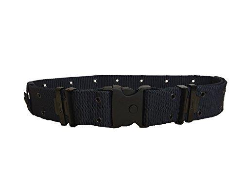 ALGI Cinturone Tattico Blu Navy H 5,50 cm con Fibbia di Sicurezza (L/XL)