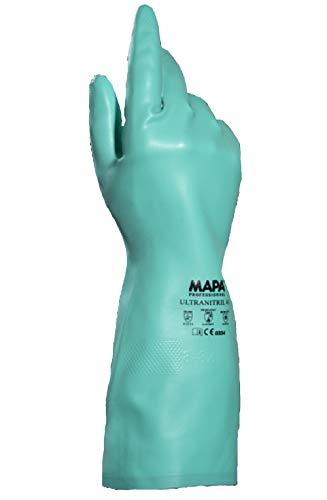 Mapa Professional Ultra nitrile-491 GR-KABEL Lot de 10 gants de protection vert (2)