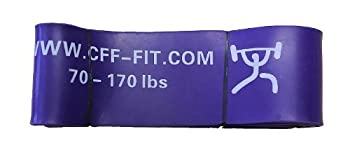 CFF 41  Monster Strength Band - #6  3 1/4   70-170 Lbs  - Strength Pull-up Power-lifting Jump Speed Sprinting Mobility Stretching  Single Band