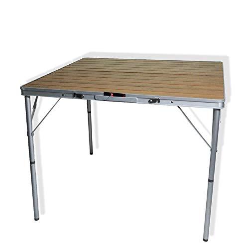 DX klaptafel bamboe grote tafel picknick tafel opvouwbare bamboe kleur