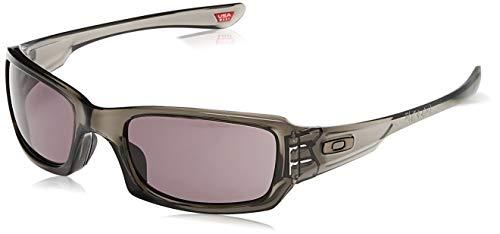Oakley Sonnenbrille Fives Squared, OO9238, Grau (Gestell: Grey Smoke; Gläser: Warm Grey 9238-05)