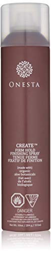 Onesta Hair Care Firm Hold Finishing Hair Spray, 10 oz, Humidity Resistant with Aloe - Strong Hold