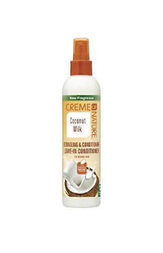 Creme Of Nature Après-Shampoing sans Rinçage Démêlant Coco 250 ml
