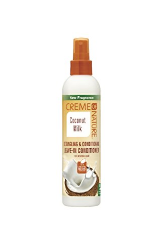 Crème van de natuur Coconut Milk Leave In Conditioner, 8,45 oz