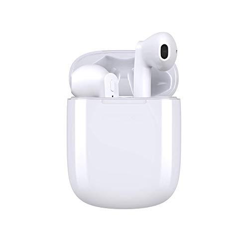 Auricolare Bluetooth Senza Fili, Prtukyt Auricolari Bluetooth con Microfono Incorporato, Cuffie Wireless Stereo 3D with IPX6 Impermeabile, 35 Ore di Riproduzione