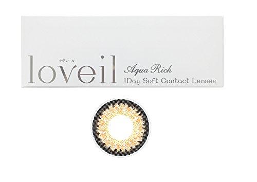 ラヴェール(loveil) 1day 1箱30枚入 14.2mm (±0.00(度なし),シルキーベージュ)