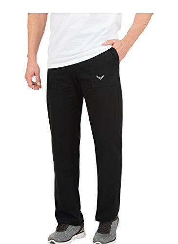 Trigema Herren 637091 Sporthose, Schwarz (schwarz 008), 48 (Herstellergröße: M)
