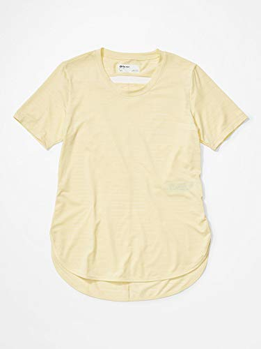 Marmot Damen Ellie Kurzarmshirt, Yellow Mist, XL