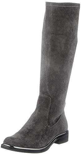 CAPRICE Damen 9-9-25512-25 Kniehohe Stiefel, DK Grey STRETC, 38.5 EU