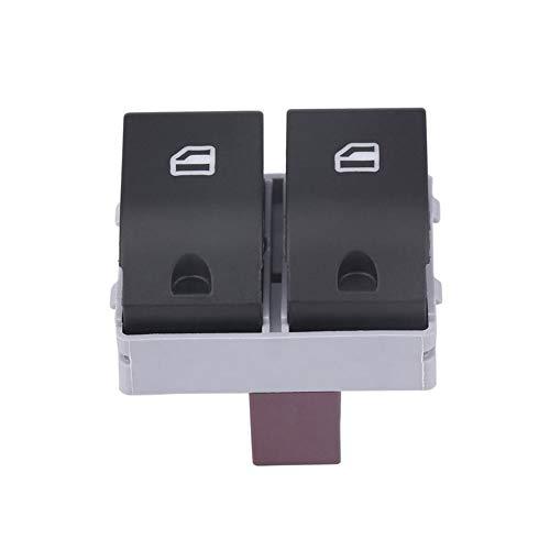 RJJX Arrancar el Motor Interruptor de botón de Encendido Ventana de Energía Eléctrica Interruptor de botón for los Seat Ibiza Córdoba 02-09 6Q0959858 Coche Interruptor de relé