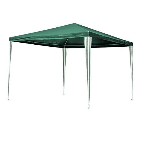 Hengda - Cenador de jardín (3 x 3 m) - Toldo para Fiestas de protección UV - Tienda de campaña para Exteriores, Boda, jardín, Fiesta, Camping, fácil de Instalar, Verde