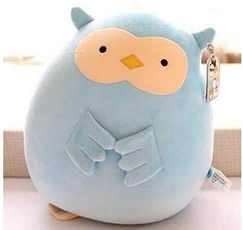 Boufery Mini Animal de Peluche, Lindo búho Colgante, muñeco de Peluche, Juguete para niños, Regalo de cumpleaños, 15 cm (Azul), 1 Pieza
