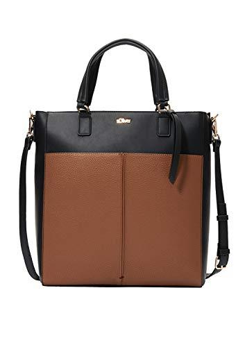 s.Oliver (Bags 39.912.94.2098 - Borsa a tracolla da donna, 9 x 34 x 30 cm, colore: Marrone
