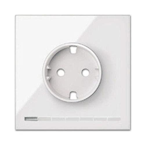 Kit completo 1 base enchufe Schuko HUB Pro IO, serie 100, 4 x 7 x 13 centímetros, color blanco (referencia: 10021108-130)
