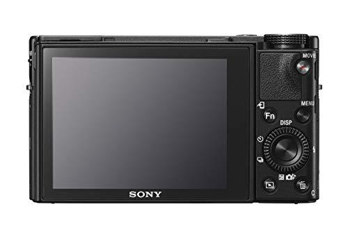 Sony RX100 V | Premium-Kompaktkamera (1,0-Typ-Sensor, 24-70 mm F1.8-2.8-Zeiss-Objektiv, 4K-Filmaufnahmen und neigbares Display)