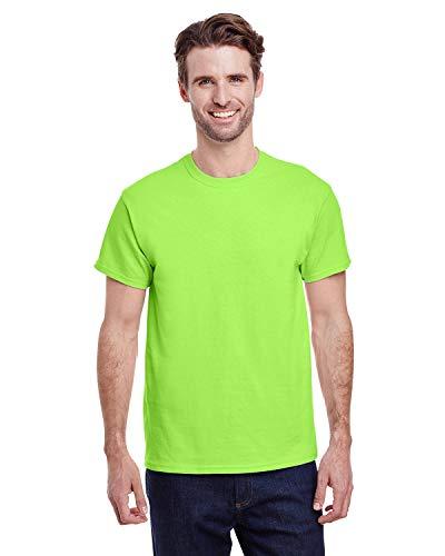 Heavy Cotton 100% Cotton Tshirt (G500) Neon Green, XL
