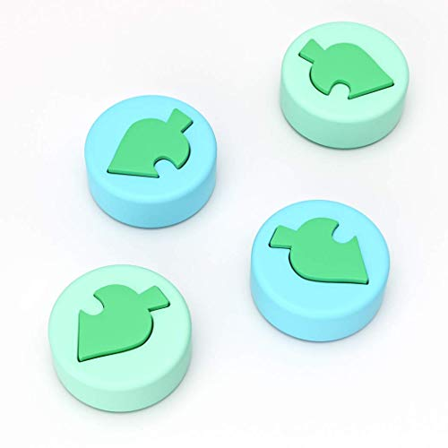 Switch Thumb Grips Animal Crossing Theme, OIVO Ergonomic Analog Stick Caps for Switch/Switch Lite-2 Pairs