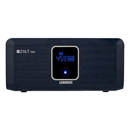 Luminous Zolt 1100 Inverter Sine Wave Home UPS (Blue)