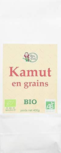RITA LA BELLE Blé Kamut en Grain Bio 400 g - Lot de 6