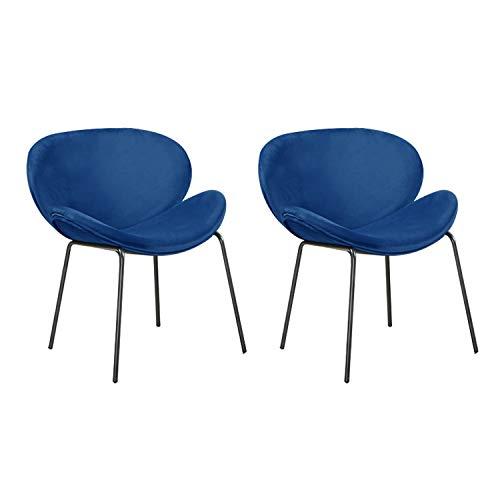 Limited Sitz Esszimmerstühlen mit Effekt Metallbeinen Wohnzimmer Stuhl, Ergonomisches Design Wohnzimmer Stühle