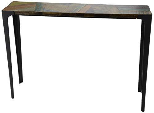 Amadeus Console en manguier et Bois recyclé Presto 110 cm