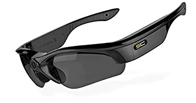 SunnyCam 1080p HD Covert Video Recording Eyewear Sunglasses with Wide Angle Lense - Sport Edition from Nemesis